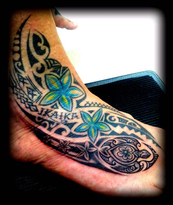 Custom Polynesian Tattoo Design